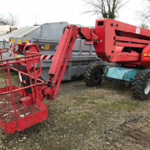 Manitou 160 ATJ+ diesel-powered articulated platform