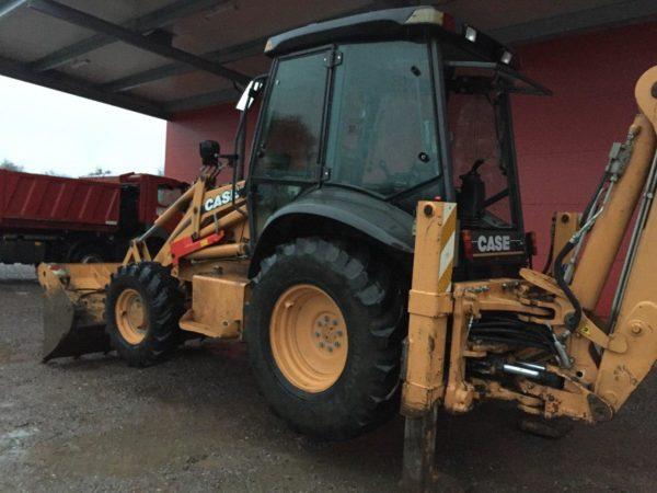 CASE 580 Excavator